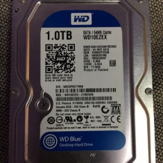 Cumpara ieftin Hard-disk PC 1 TB Western Digital WD Blue Sata3 7200 rpm 64MB 100% health P115