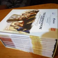 Vand Colectia originala Suleiman Magnificul - Film Colectie independent productions, DVD, Romana