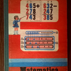 Matematica Manual pentru clasa a III-a {1988} - Carte Cultura generala