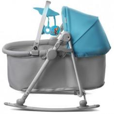 Balansoar KinderKraft 5 in 1, Unimo albastru, 0 – 18 kg - Balansoar interior Kidkraft