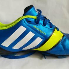 Pantofi sport Adidas Nitrocharge 3.0 Nr. 38, albastru/galben, stare foarte buna - Adidasi barbati
