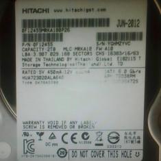 Hard-disk PC 2TB Hitachi Sata3 64MB 7200 rpm 100% health P116, 2 TB, SATA 3, Western Digital