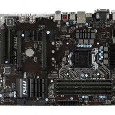 Placa de baza MSI Socket LGA1151, Z170A PC MATE, Intel Z170, 4*DDR4 2133/3200(OC), DVI/HDMI/VGA, 5*PCIEx3.0, 2*PCI, 6*SATA6/SATAe, 8 bulk, Altul, ATX