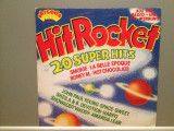 HIT ROCKET - VARIOUS ARTISTS (1977/ARCADE/West Germany) - VINIL/Analog/NM-