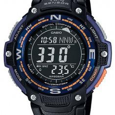 Casio SGW-100-1AV/2AV ceas barbati nou 100% original. 2 culori - Ceas barbatesc Casio, Casual, Quartz, Inox, Cauciuc, Alarma