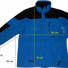 Geaca munte outdoor SCHOFFEL originala GoreTex (L/XL) cod-261266 - Imbracaminte outdoor Schoffel, Marime: L, Jachete, Barbati
