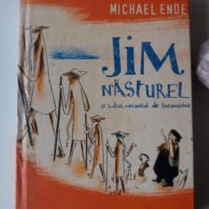 Jim Nasturel Si Lukas, Mecanicul De Locomotiva - Michael Ende (4+1) - Carte de povesti