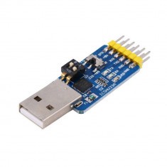 Six-in-one multi-function serial port module CP2102 usb to TTL 485 232 (FS01163)