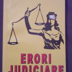 Erori judiciare - Traian Tandin - Carte politiste