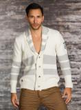 Pulover alb barbati