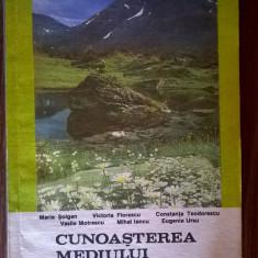 Cunoasterea mediului inconjurator Manual pentru clasa a IV-a {1993} - Carte Cultura generala
