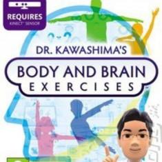 DR KAWASHIMA'S BODY AND BRAIN EXERCISES - Kinect - XBOX 360 [Second hand] - Jocuri Xbox 360, Simulatoare, 12+, Multiplayer