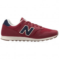 Pantofi sport barbati New Balance 373 ML373RBS - Adidasi barbati New Balance, Visiniu