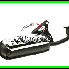 TOBA SCUTER 2T ESAPAMENT MALAGUTI F10 F12 F15 MBK Ovetto Nitro PGO Rex KTM - Toba esapament Moto