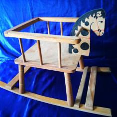 Calut Balansoar. Jucarie veche din lemn, leagan pentru copii - Balansoar interior, Altele