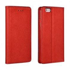 Husa Piele Samsung Galaxy A8+ (2018) A730 Case Smart Magnet Rosie - Husa Tableta