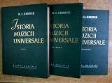 R. I. Gruber – Istoria muzicii universale {3 volume}