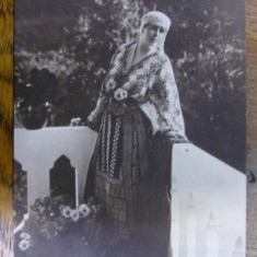 REGINA MARIA IN COSTUM POPULAR ROMANESC - CARTE POSTALA FOTO - Harta Europei