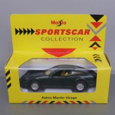 Aston Martin Virage, Maisto, 1/38-1/40 - Macheta auto