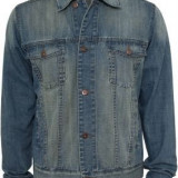 Jacheta denim urban