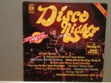 DISCO NIGHT - VARIOUS ARTISTS (1981/K-TEL REC/West Germany) - VINIL/Analog, universal records