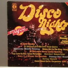 DISCO NIGHT - VARIOUS ARTISTS (1981/K-TEL REC/West Germany) - VINIL/Analog - Muzica Pop universal records