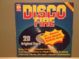 DISCO FIRE - VARIOUS ARTISTS (1977/K-TEL/West Germany) - VINIL/Analog, Teldec