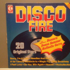 DISCO FIRE - VARIOUS ARTISTS (1977/K-TEL/West Germany) - VINIL/Analog - Muzica Pop Teldec