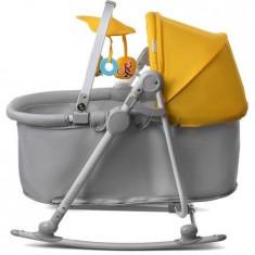 Balansoar KinderKraft 5 in 1, Unimo galben, 0 – 18 kg - Balansoar interior Kidkraft
