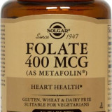 FOLATE AS METAFOLIN 400mcg tabs 50 tablete SOLGAR