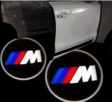Proiectoare in portiera cu Logo BMW ///M