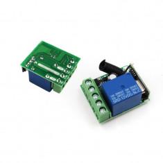 DC 12V 10A 1 Ch Wireless Relay RF Remote Control Switch  433MHz (FS01165)