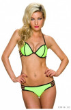Costum de Baie Push-Up cu Bretele Decorative