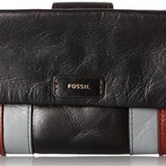Fossil Ellis clutch portofel dama multicolor nou 100% original. Livrare rapida., Culoare: Din imagine
