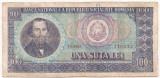 ROMANIA 100 lei 1966  RADAR F
