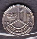 BELGIA 1989 - MONEDA 1 FRANC, Europa