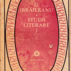 Studii literare - Studiu literar