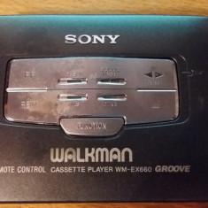 SONY WM-EX660 WALKMAN PERSONAL CASSETE PLAYER