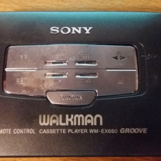 SONY WM-EX660 WALKMAN PERSONAL CASSETE PLAYER - Casetofon