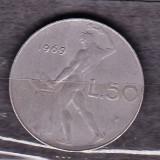 ITALIA 1969 - MONEDA 50 LIRE, Europa