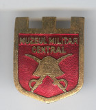 MUZEUL MILITAR CENTRAL  Insigna MILITARA -  email - Superba