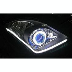 Banda flexibila LED DRL Lumina DE ZI alba 30cm SET 2 BUC.  - 24V AL-070218-11