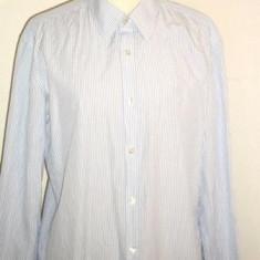 Camasa (barbati) bleu cu dungi HUGO BOSS 40/15 3/4, Maneca lunga