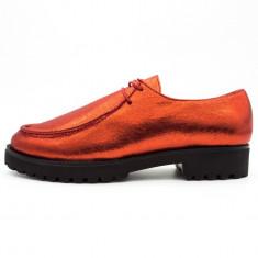 Pantofi dama model Musette, Cod:COR 2.2016 RED (Culoare: Rosu, Marime Incaltaminte: 40) - Pantof dama UCU Dima