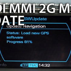 DVD Navigatie AUDI MMI 2G - A4, A5, A6, A8, Q7 - Romania / Europa 2018 - Software GPS