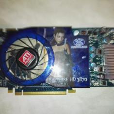 Saphire HD 3870 512 mb ddr3 256 bits - Placa video PC Sapphire, PCI Express, Ati