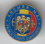 ANCMRR - MAI - As. Nat. a Cadrelor Militare in Rezerva si retragere Insigna