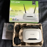 Router wireles N,TP-LINK TL-WR841N,300 mps
