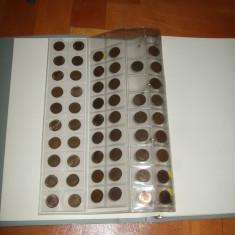 Album pentru monede, 7 coli, se vinde fara monede - album clasor