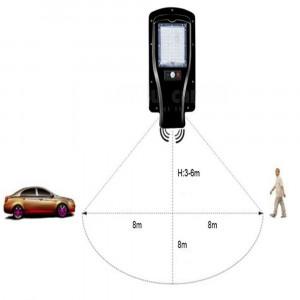 Proiector 30w cu panou solar senzor de miscare, lumina metalic telecomanda